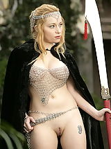 naked moms, WoW nude aiden medieval guard on duty