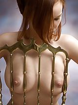 Nipples, Sylvia - Golden Chair