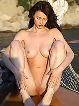 Abby in Sailboat