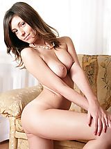 True Beauty Nippels, Celesta displays her warmth and charms