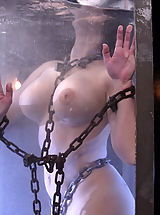 White Areola, Aria Giovanni gets the Waterbondage treatment!