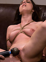 Kink Nippels, Casting Couch 8: Winter Sky, A Rope Slut is Born!