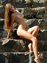 Youll probably fall in love with long � haired cute babe as soon as you look at her face and body.