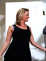 Milf Pics: Sexy MILF Becca Blossoms rides a hard, young cock