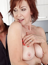 Nice Areolas, Hot 32+ Mommy reveals her properly experienced muschi Danny Bloom Fucked at the Office