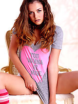 Pretty young thing Allie Haze gets down and dirty with her non virginal, curvy body!