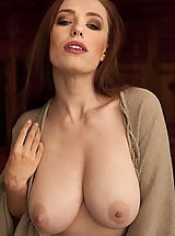 naked wives, WoW nude titania redhead bigtits