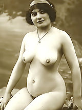 Vintage Nippels, Forgotten European Nude Photography from 1850 to 1920 Featuring Lewd Naked Girls Posing On VintageCuties.com