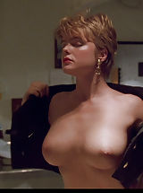 Female Areola, Erika Eleniak shows down her huge, breathtaking tits