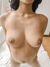 Very large Nipples, Preston pampers his beautiful Karmen's stems with an attractive massage