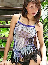 Naked The Black Alley, Asian Women vanessa ma 08 erect nipples