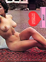 young naked, Enormous photo collection of naked vintage women with big boobs and natural hairy cunts posing for money