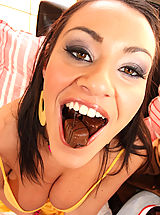 Deepthroat Blowjob Lesson with Charley Chase