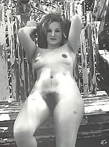 Vintage Fashion, What a Great Collection of Busty Naked Naturist Women with Unshaven Coochies I Have Here Come Take a Quick Look