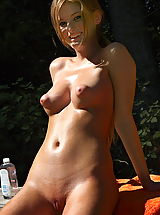Nipples, faye reagan 02 puffy nipples forest