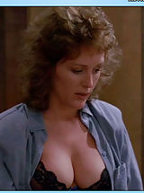 Giant Areola, Die Hard's partner Bonnie Bedelia bares her tits.