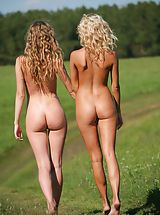 Ass Nippels, Femjoy - Nicolle, Anju in Going For A Walk