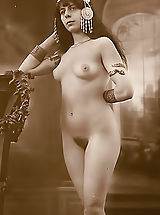 This Is What We Call Real Old Time Erotica - True 1900-1920 Erotic Pics Featuring Beautiful Naked Wives of those Times