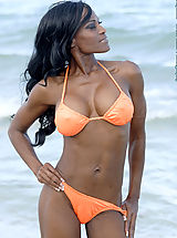 Black Pics: Debra Dunn On Miami Sand