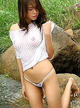 Bikini Wax, vanessa ma 06 wet t shirt