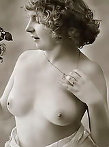 Retro Clothing, Very rare genuine vintage erotic postcards of 1910's featuring women that never ever swallowed cum and still pure