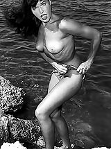 Previously Unreleased Vintage Photos of All Naked Betty Page Shot in 1950's Unique Vintage Porn Archive