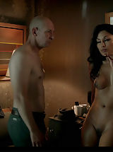 Young Puffy Nipples, She's Irish-Spanish-Filipino-Cantonese-Polynesian and completely nude