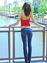 Naked Jeans, Seducing Jody nipples show through