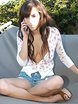 Naked Teens, April fucks her older boyfriend all over her backyard and screams in hopes that her mom hears it all.