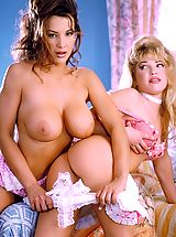 Suze Randall Nippels, Two girls dressed in innocent outfits get naked and do things to their not so innocent stunningly sexy bodies.
