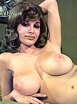 Vintage Online, Joyce Gibson Aka Alexis Love - Big Busty Queen of the 70's Posing Fully Nude Hairy Cunt Is Visible Nice Hard Nipples