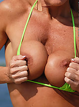 Peggy Vee Erotically Topless