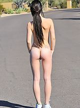 naked teens, 1st Time Movie Jog genital stimulation with Lacey