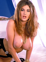 Naked Suze Randall, Bury your head in Celeste's delicious chest...it's warm, toasty, and oh so tasty!