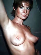 Big Nipples, Antique Woman