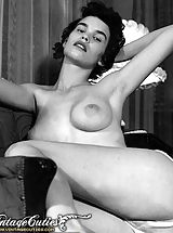 skinny naked, Vintage Porn at its best from Vintage Cuties