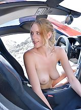naked 18, Anya Supercar Spreads