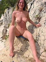 Small Bikini, Very Hot Naturist Ladies Pose All Naked And Showing Tits And Even Spreading Cunts