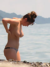 Mature Naturist Women - Sexually Attractive Naked Women with Beautiful Aged Bodies Big Boobs & Leg Spreading