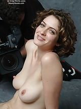 Erected Nipples, Helena C2  unclothed