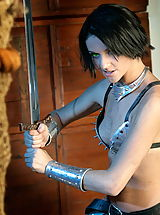 Fantasy Pics: WoW nude naudia medieval fight training