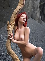 Femjoy Nippels, Femjoy - Ariel in Sculpture On Mars
