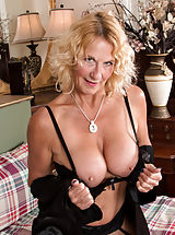 Areola Breast Pics, UK Granny Molly Maracas wants to talk dirty to you while she caresses her stockinged legs and hanging bigtit boobs in bed. While this lush cougar is showing you what she likes, she'll slowly peel off her robe and lingerie until she has uncovered the magic