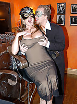naked tv, Content of Jaime Brooks - My husband and I attended a masquerade party. It was great dressing up and wearing masks. The best part was having a sexy stranger join us downstairs for a little crazed, masked sex adventure...