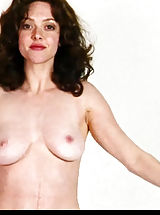 women with hard nipples, Ms. Seyfried isn't bashful about showing her a-mam-das in the huge display!