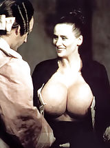 Rare To Find Antique Bare Photos of the Owner of the Biggest Breasts in the World - Chesty Morgan - Shot In 1970s