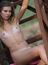 black naked, Charming girl with a tasty petite body poses naked showing her passionate and wild side.