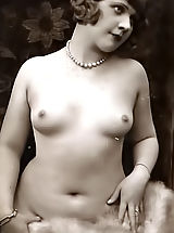 naked girl, Vintage Chicks