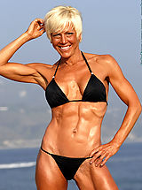 Bikini, Christine Le Monde Ripped and Beautiful