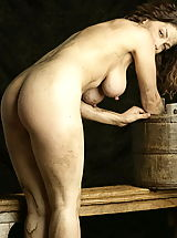 Erected Nipples, WoW nude keemly medieval body washing